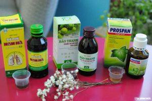 Top 3 sản phẩm thuốc trị ho tốt nhất cho trẻ