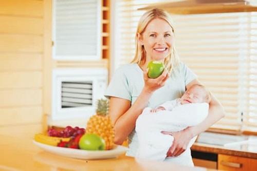 Thực phẩm tốt cho sức khỏe của mẹ sau sinh