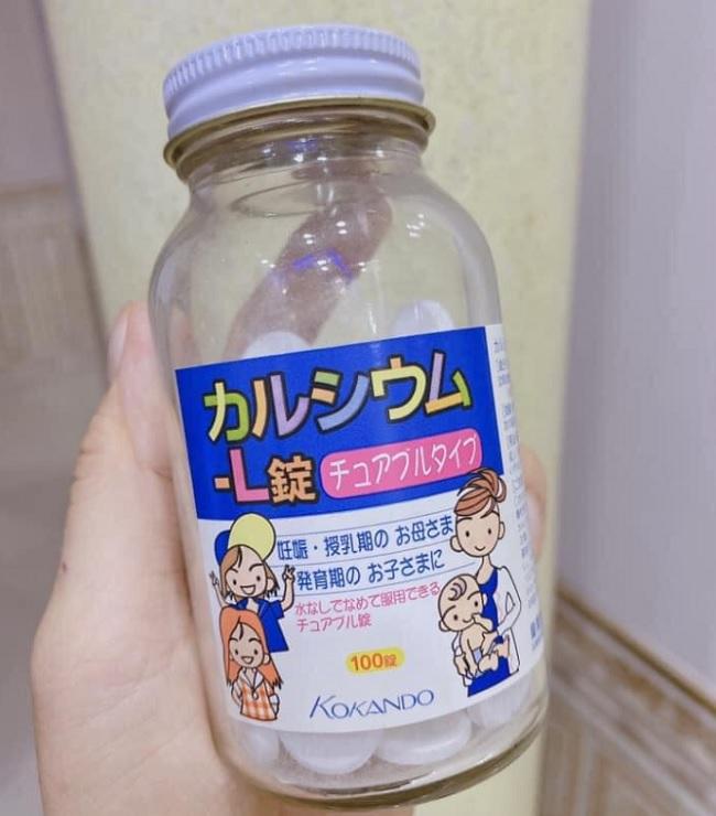 Thuốc tăng chiều cao Nhật Canxi Kokando